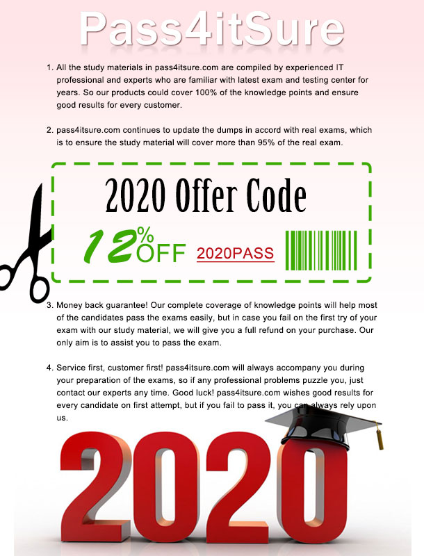Pass4itsure-discount-code-2020